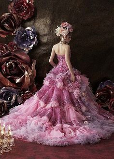 Ball Dresses, Ball Gowns, Prom Dresses, Pretty Dresses, Beautiful Dresses, Fairytale Gown, Beautiful Wedding Gowns, Fairy Dress, Gowns Of Elegance