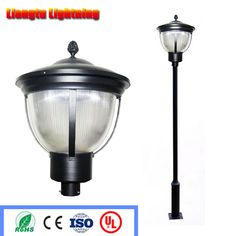 New Listing E27 Led Outdoor Garden Landscape Lighting Column Head Lamp Waterproof European Aluminum Wall Lamp Outdoor Lighting To Make One Feel At Ease And Energetic Led Lamps