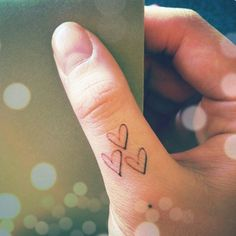 3 little hearts