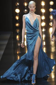 Alexander Vauthier couture, spring/summer 2014- so very Michelle Pififfer in Sarface