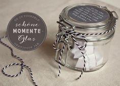 DIY: Schöne-Momente-Glas (Gratitude Jar)