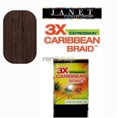 Janet Collection 3X Caribbean 100 Kanekalon Synthetic Hair Braid  Afro Twist 80 4medium brown >>> To view further for this item, visit the image link.(This is an Amazon affiliate link and I receive a commission for the sales)