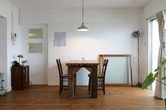 名古屋市天白区の松美建設の手がける、名古屋市名東区の古い公団リノベーション スケルトンリフォーム インテリア小物の似合う部屋