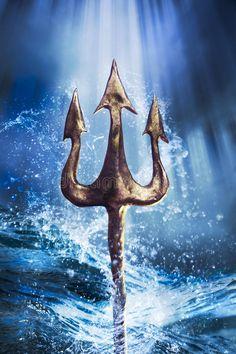 Daughter of Zeus. Daughter of Poseidon. When Poseidon Trident goes m… Greek Gods And Goddesses, Greek And Roman Mythology, Tattoo Deus, Poseidon Trident, Dramatic Background, Trident Tattoo, Daughter Of Poseidon, Roman Gods, Under The Sea Theme