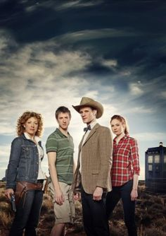 Dr Who, more cowboy hats and red plaid shirts please.
