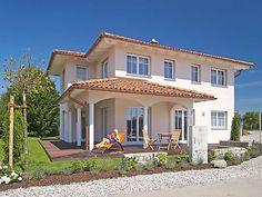 Love Home, My Dream Home, Porches, Pergola, Stucco Exterior, Tuscan House, Holiday Places, Dream House Exterior, Future House