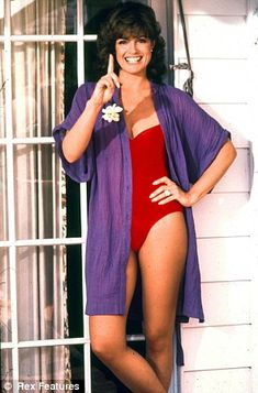 Lind Gray (Sue Ellen Ewing) from the original Dallas TV series