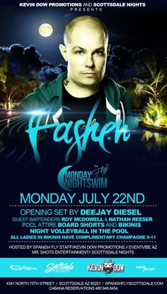 THE FLY – MONDAY Night Industry Pool Party – 07.22.2013