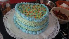 Torta niños colorida