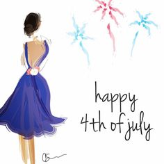 Happy #FourthofJuly!! #merica #independenceday #graphicdesign #fashionillustration #art #design