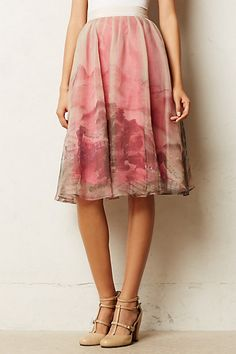 this is a very ballet inspired skirt from anthropologie! i didn't try it on in person but saw it in a store...