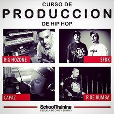En noviembre nuevo curso de producción grabación mezcla y mastering en @school_training. Con la colaboración de SFDK Capaz y R de Rumba. Toda la info en http://ift.tt/1KPQwNw o desde mi web www.BigHozone.com (link en la bio). #curso #grabacion #mezcla #mastering #masterizacion #produccion #beatmaking #schooltraining #showtimeestudio #bighozone #sfdk #rderumba #capaz #rap #hiphop #musica #malaga
