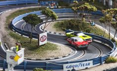 View David Beattie Makes the World's Most Extravagant and Realistic Slot-Car Tracks [Sponsored] Photos from Car and Driver. Find high-resolution car images in our photo-gallery archive. Las Vegas, Cars 1, Race Cars, Grand Prix, Slot Car Tracks, Race Tracks, Slot Car Racing Sets, Poker, Carrera Slot Cars