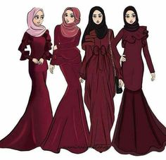 Best Picture For fashion sketches croquis For Your Taste You are looking for something, and it is go Fashion Collage, Fashion Art, Editorial Fashion, Fashion Models, Office Fashion, Collage Outfits, Muslim Fashion, Modest Fashion, Hijab Fashion