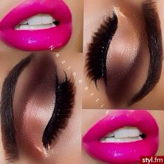 ~ Hair / Hair Style / Hair Color / Hair Cut / Fashion / Models / Beauty / Beauty Salon / Make up / Gorgeous Makeup, Love Makeup, Makeup Tips, Makeup Looks, Perfect Makeup, Pretty Makeup, All Things Beauty, Beauty Make Up, Kiss Makeup