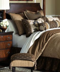 Shop bed and bath at Buyer Select. Our curated selection includes beautiful duvet covers, designer, and luxury bedding sets as well as sumptuous linens. Luxury Bedding Collections, Luxury Bedding Sets, Farmhouse Bedroom Decor, Farmhouse Curtains, Farmhouse Design, Cozy Corner, Soft Duvet Covers, Shabby, Comforter Sets