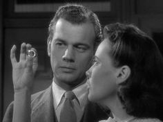 Joseph Cotten and Teresa Wright in Shadow of a Doubt