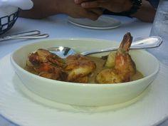 Pan Seared Shrimp in a Diijon Mustard sauce