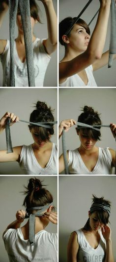 surprisebeauty: DIY Criss-cross headband Tutorial