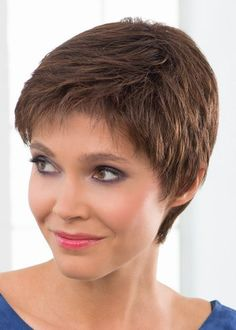 Porto Lace Ladies Wig from the Stimulate Collection in colour Chocolate Mix | Monofilament Wig | Valentine Wigs