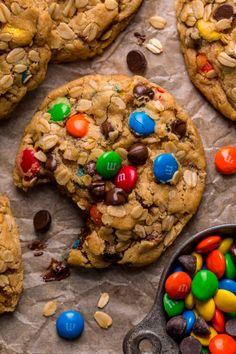 Chunky Peanut Butter, Creamy Peanut Butter, Baking Flour, Oatmeal Cookies, Pecan Cookies, Chip Cookies, Brown Butter, Butter Pecan, Gluten Free Baking