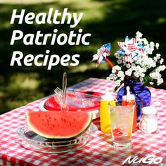 Looking for #healthy #patriotic recipes using fresh fruits and veggies? Celebrate with these fun allergy-friendly ideas.