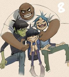 Murdoc and noodle dating divas