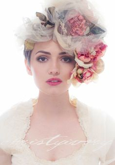Christy Ivory makes these awesome flower crowns (and is also the photographer!)... check out her work on Etsy.
