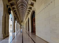 The Sultan Qaboos Grand Mosque by Elstrup