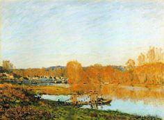 Alfred Sisley: El impresionista más puro » Trianarts