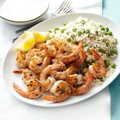Tarragon Shrimp with Risotto