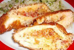 Hortobágyi göngyölt hús Hungarian Cuisine, Hungarian Recipes, Hungarian Food, Meat Recipes, Cake Recipes, Cooking Recipes, Food 52, Bacon, Food And Drink