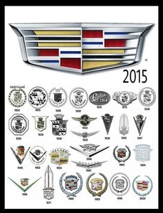 Evolution of the Cadillac Symbol Car Badges, Car Logos, Cadillac Eldorado, Cadillac Escalade, Diesel Trucks, 4x4 Trucks, Lifted Trucks, Ford Trucks, Chevrolet Trucks