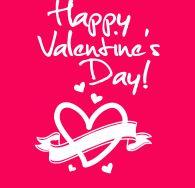 Valentine Heart and Ribbon http://behjr.com