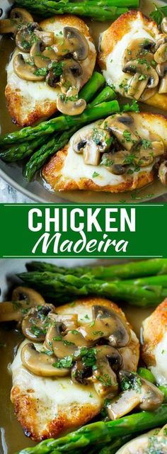 Chicken Madeira Recipe | Chicken with Mushrooms | Cheesecake Factory Copycat Recipe