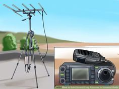 Image titled Build Several Easy Antennas for Amateur Radio Step 1