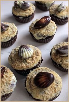 Sand and shells Shells, Muffin, Cupcakes, Breakfast, Food, Shelled, Breakfast Cafe, Muffins, Cupcake