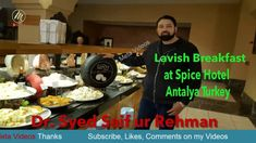 Lavish Breakfast at Spice Hotel Antalya Turkey – Meta Videos Antalya, Movies Online, Spices, Turkey, Breakfast, Videos, Video Clip, Morning Breakfast