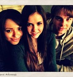 Bonnie, Elena, and Kol Have a Slumber Party: Vampire Diaries Cute Pic of the Day