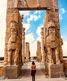 The magnificent #Persepolis! Shiraz, IRAN