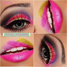 Crazy colors!
