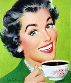 Coffee Break...a housewife's 10 minute 'happy hour'!