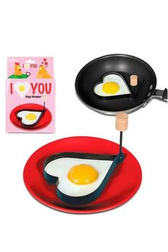 Pin for Later: 50 Lovely Items For the Perfect Breakfast in Bed Twist Heart Egg Shaper Twist Heart Egg Shaper ($7)