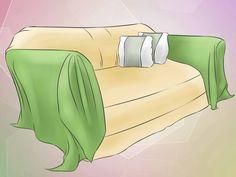 Ein Sofaüberwurf kann ein altes Möbel wiederbeleben und dem Raum ein frisches…