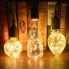 Quality glass lamp with free worldwide shipping on AliExpress Edison Lighting, Copper Lighting, Light Bulb Art, Lamp Light, Led, Creative Lamps, Incandescent Bulbs, Aliexpress, Copper Wire