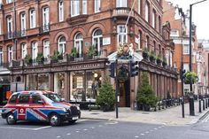 Mayfair, London:   South Audley Street. Audrey Hepburn lived on South Audley as a teenager.