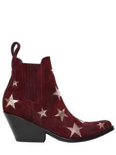 4cdee34f13 MEXICANA 65MM STARS BRUSHED SUEDE ANKLE BOOTS.  mexicana  shoes