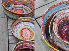 Vi skär remsor av 3 cm i … Diy Couture, Couture Sewing, Fabric Rug, Fabric Scraps, Scrap Fabric, Recycled Paper Crafts, Sewing Crafts, Diy Crafts, Textiles