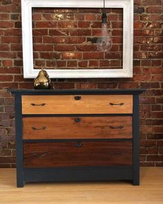 Dresser Gradient in Gel Stains | General Finishes Design Center #Furnituremakeover
