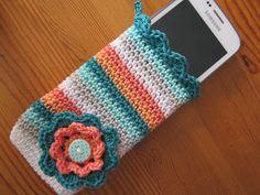 Kaatje Kip blog - Gehaakt hoesje voor mijn Samsung Galaxy Trend / Crochet cover for my Samsung Galaxy Trend